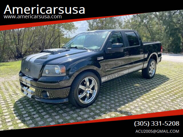 2008 Ford F-150 for sale at Americarsusa in Hollywood FL