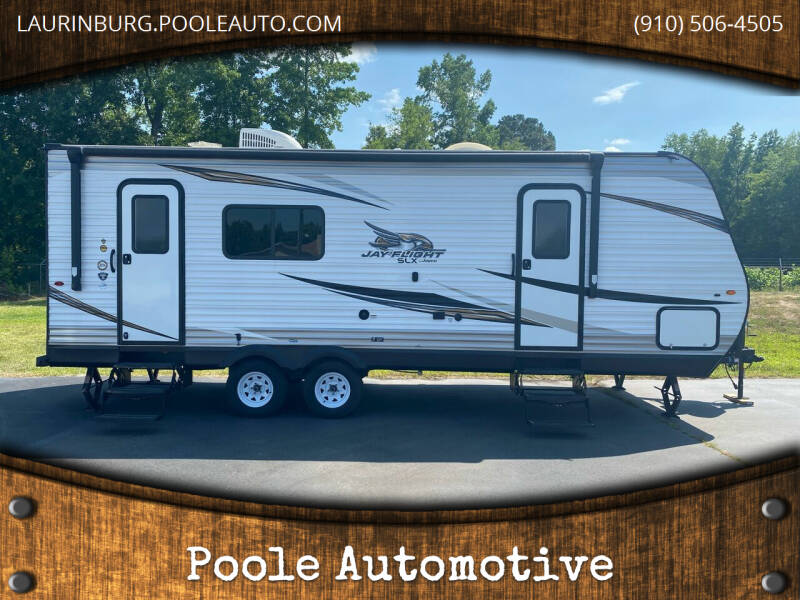 2019 Jayco M-235 RKS for sale at Poole Automotive in Laurinburg NC