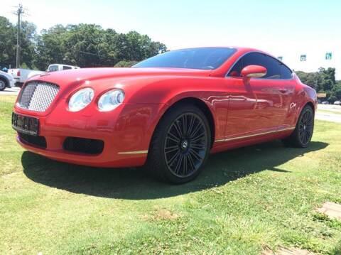 2004 Bentley Continental for sale at Atlanta Fine Cars in Jonesboro GA