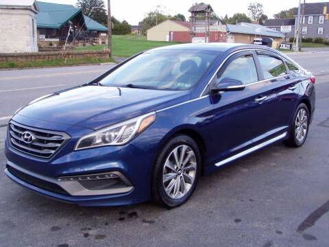 2016 Hyundai Sonata for sale at The Autobahn Auto Sales & Service Inc. in Johnstown PA
