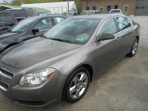 2011 Chevrolet Malibu for sale at Sleepy Hollow Motors in New Eagle PA