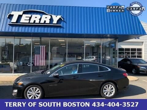 2020 Chevrolet Malibu for sale at Terry of South Boston in South Boston VA