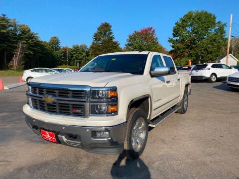 2014 Chevrolet Silverado 1500 for sale at AutoMile Motors in Saco ME