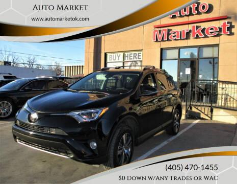 2017 Toyota RAV4 for sale at Auto Market in Oklahoma City OK