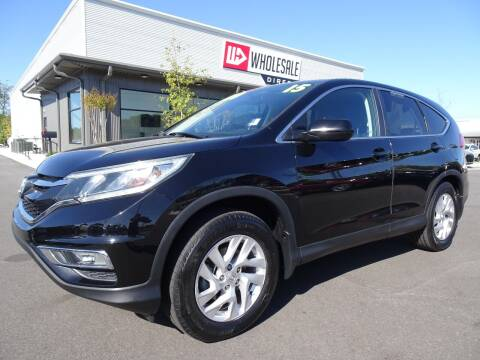 2015 Honda CR-V for sale at Wholesale Direct in Wilmington NC