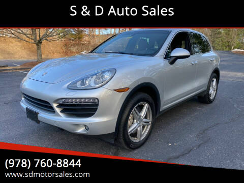 2014 Porsche Cayenne for sale at S & D Auto Sales in Maynard MA