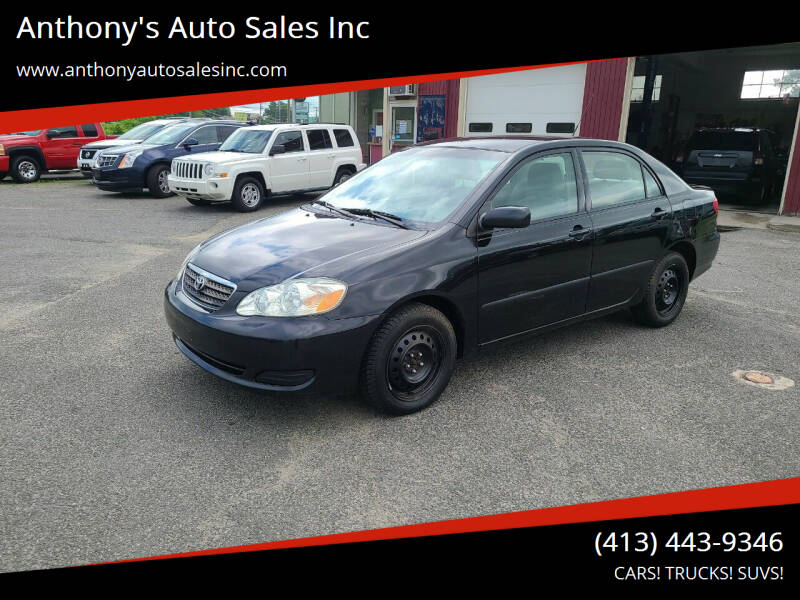 2007 Toyota Corolla for sale at Anthony's Auto Sales Inc in Pittsfield MA