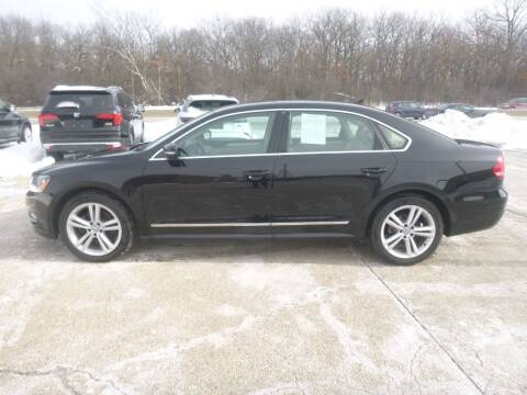 2013 Volkswagen Passat for sale at NEW RIDE INC in Evanston IL