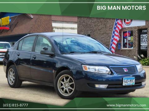 2007 Saturn Ion for sale at Big Man Motors in Farmington MN
