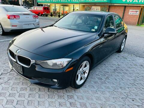2013 BMW 3 Series for sale at VENTURE MOTOR SPORTS in Virginia Beach VA