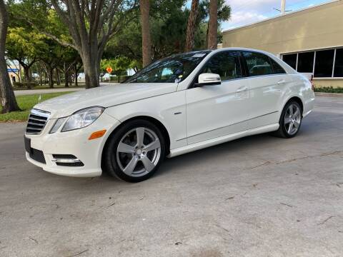 2012 Mercedes-Benz E-Class for sale at Ultimate Dream Cars in Wellington FL
