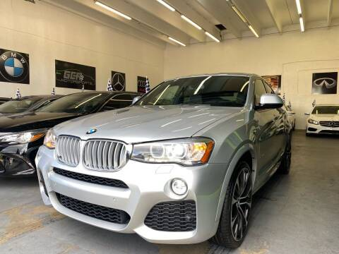 2015 BMW X4 for sale at GCR MOTORSPORTS in Hollywood FL