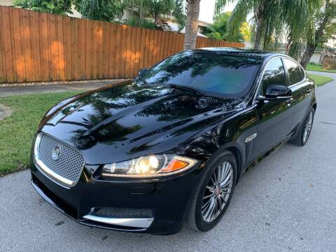 2012 Jaguar XF for sale at FINANCIAL CLAIMS & SERVICING INC in Hollywood FL