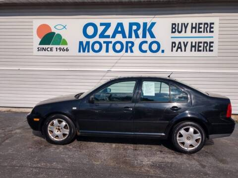 2000 Volkswagen Jetta for sale at OZARK MOTOR CO in Springfield MO