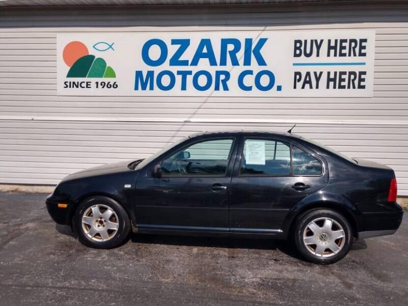 2000 Volkswagen Jetta for sale at OZARK MOTOR CO in Springfield MO