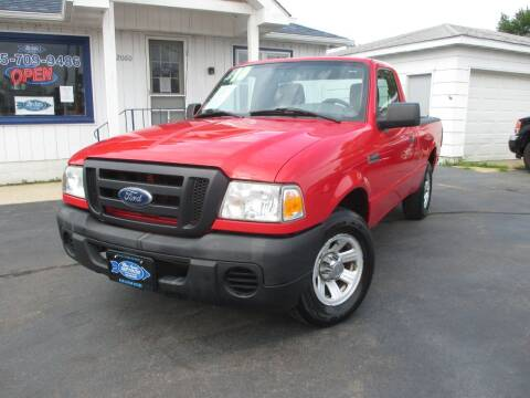 2010 Ford Ranger for sale at Blue Arrow Motors in Coal City IL
