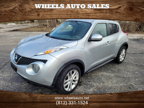 2014 Nissan JUKE for sale at Wheels Auto Sales in Bloomington IN
