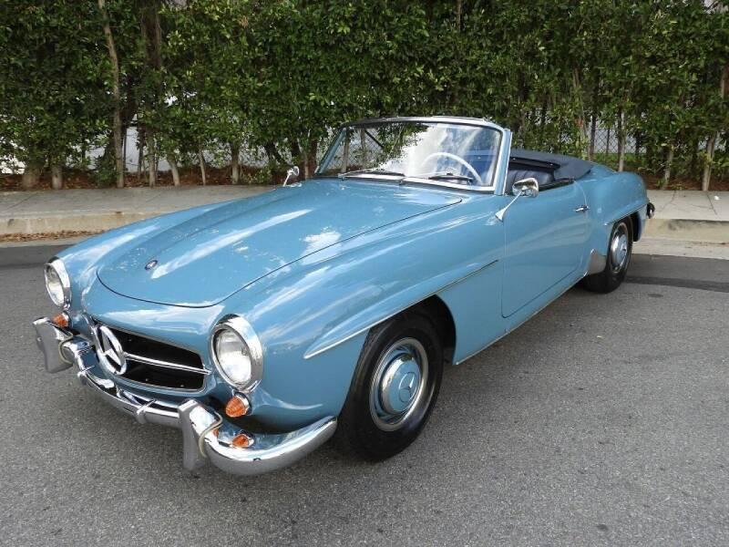 1960 Mercedes-Benz SL-Class for sale at T.K. AUTO SALES LLC in Salisbury NC