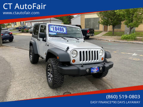 2007 Jeep Wrangler for sale at CT AutoFair in West Hartford CT