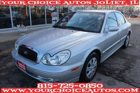 2005 Hyundai Sonata for sale at Your Choice Autos - Joliet in Joliet IL