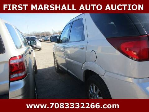 2006 Buick Rendezvous for sale at First Marshall Auto Auction in Harvey IL
