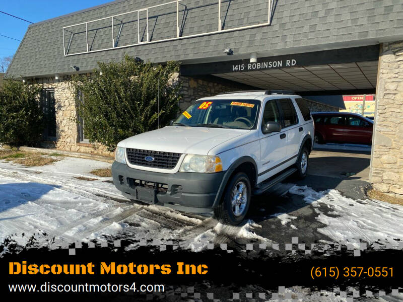 2005 Ford Explorer for sale at Discount Motors Inc in Old Hickory TN