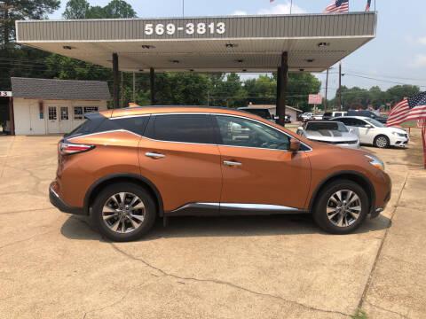 2017 Nissan Murano for sale at BOB SMITH AUTO SALES in Mineola TX