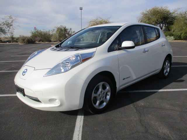 2015 Nissan LEAF for sale at Corporate Auto Wholesale in Phoenix AZ