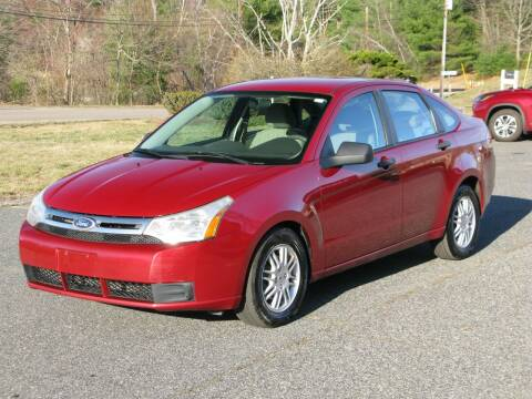 2010 Ford Focus for sale at The Car Vault in Holliston MA