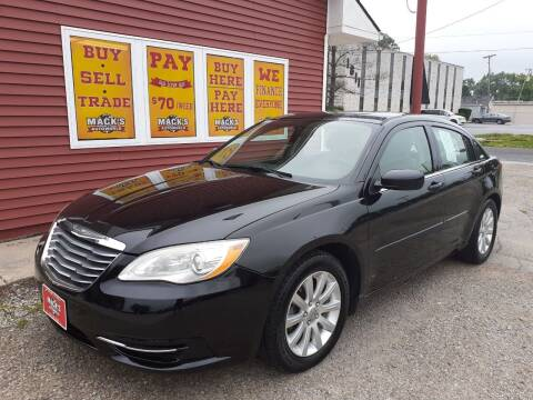 2011 Chrysler 200 for sale at Mack's Autoworld in Toledo OH