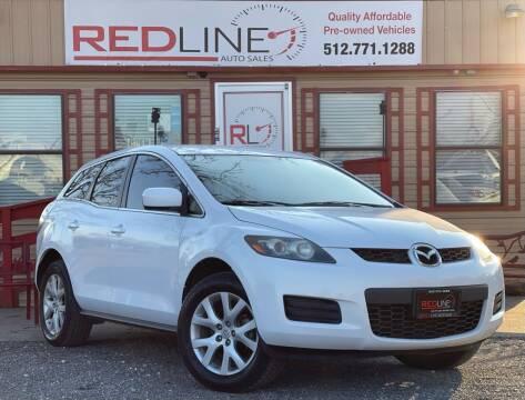 2008 Mazda CX-7 for sale at REDLINE AUTO SALES LLC in Cedar Creek TX