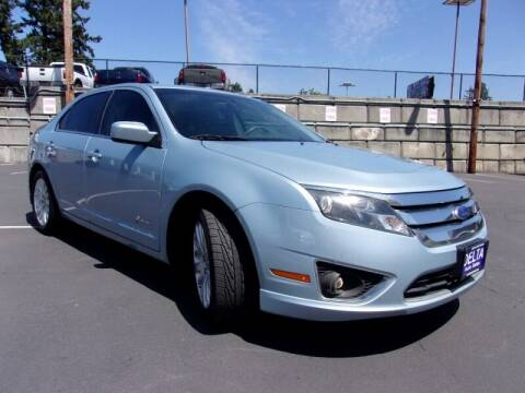 2011 Ford Fusion Hybrid for sale at Delta Auto Sales in Milwaukie OR
