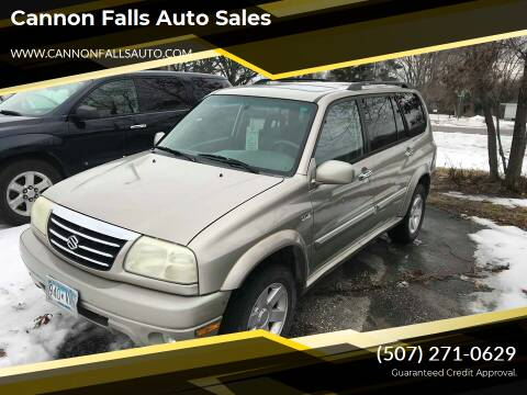 2002 Suzuki XL7 for sale at Cannon Falls Auto Sales in Cannon Falls MN