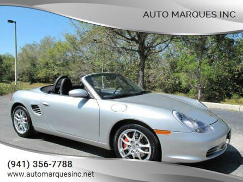 2003 Porsche Boxster for sale at Auto Marques Inc in Sarasota FL