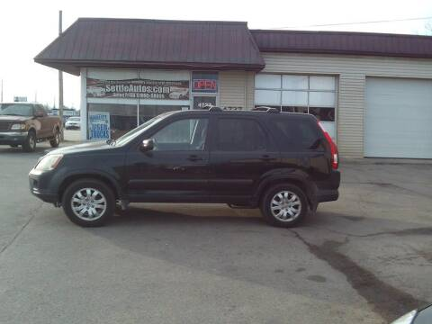 2006 Honda CR-V for sale at Settle Auto Sales TAYLOR ST. in Fort Wayne IN
