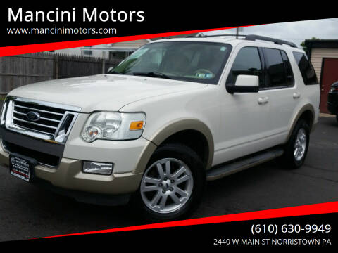 2009 Ford Explorer for sale at Mancini Motors in Norristown PA