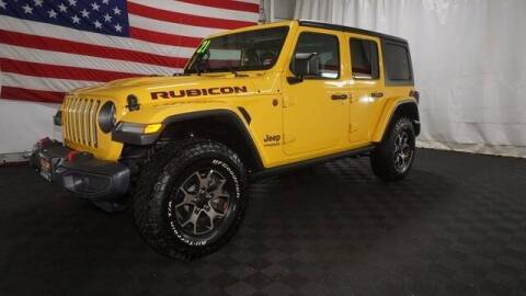 2021 Jeep Wrangler Unlimited for sale at STAR AUTO MALL 512 in Bethlehem PA