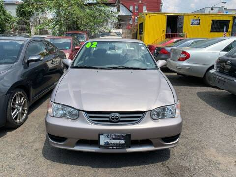 2002 Toyota Corolla for sale at 77 Auto Mall in Newark NJ