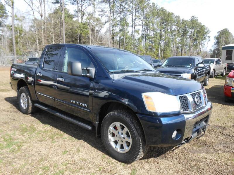 2006 Nissan Titan for sale at Jeff's Auto Wholesale in Summerville SC