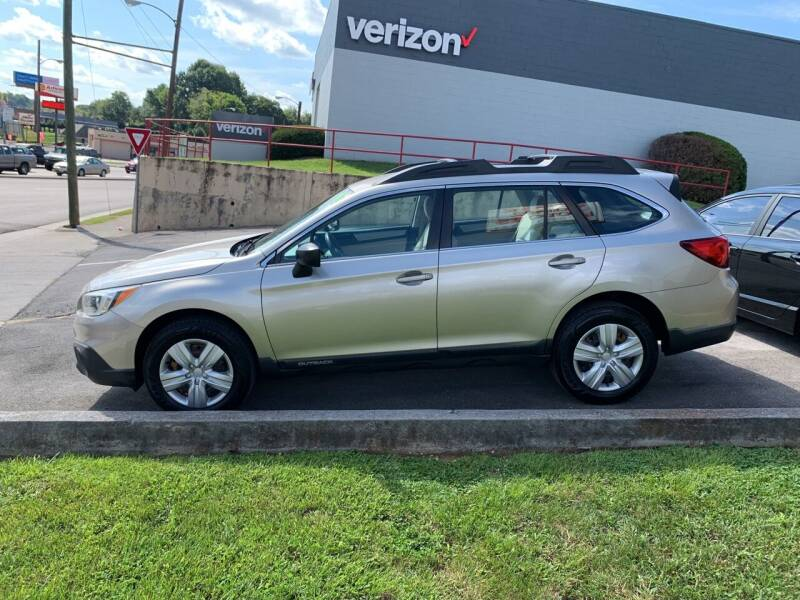 2016 Subaru Outback for sale at State Line Motors in Bristol VA
