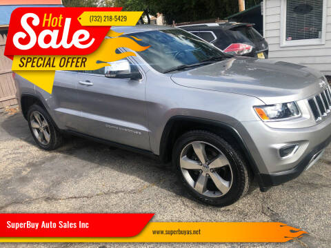2015 Jeep Grand Cherokee for sale at SuperBuy Auto Sales Inc in Avenel NJ