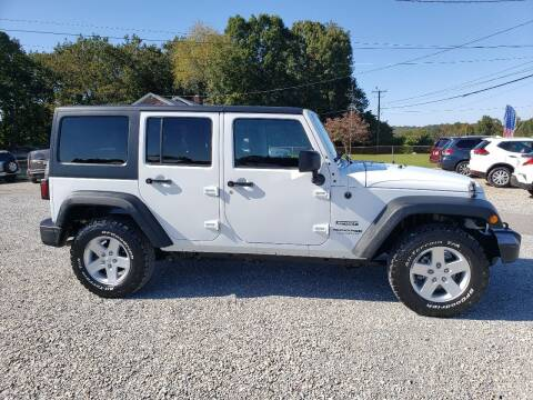 2018 Jeep Wrangler JK Unlimited for sale at 220 Auto Sales in Rocky Mount VA