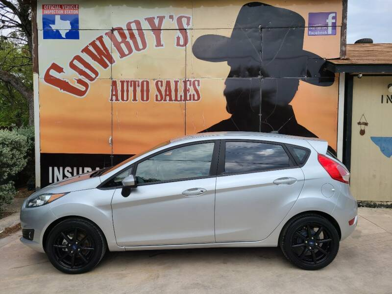 2018 Ford Fiesta for sale at Cowboy's Auto Sales in San Antonio TX