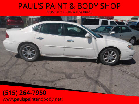 2006 Buick LaCrosse for sale at PAUL'S PAINT & BODY SHOP in Des Moines IA