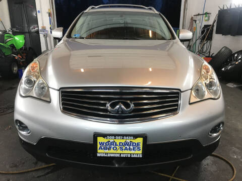 2011 Infiniti EX35 for sale at Worldwide Auto Sales in Fall River MA