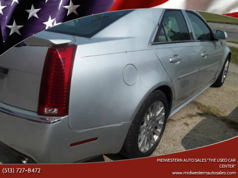 "2010 Cadillac CTS for sale at MIDWESTERN AUTO SALES        ""The Used Car Center"" in Middletown OH"