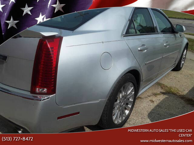 """2010 Cadillac CTS for sale at MIDWESTERN AUTO SALES        """"The Used Car Center"""" in Middletown OH"""