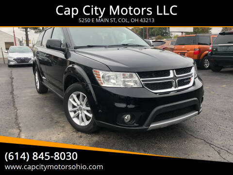 2017 Dodge Journey for sale at Cap City Motors LLC in Columbus OH