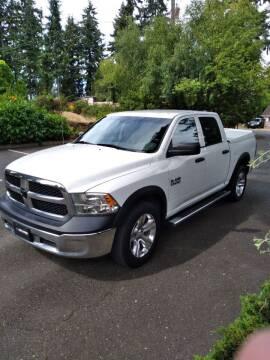 2013 RAM Ram Pickup 1500 for sale at Seattle Motorsports in Shoreline WA
