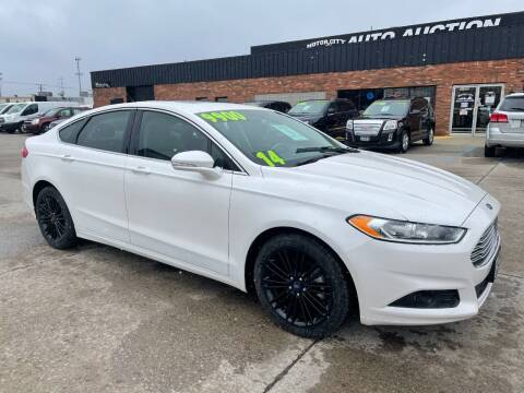 2014 Ford Fusion for sale at Motor City Auto Auction in Fraser MI